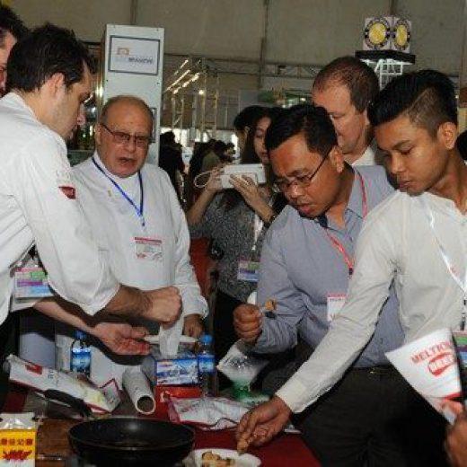 CHEFS SAMPLE FOOD AT MYAN FOOD/ MYAN HOTEL 2017