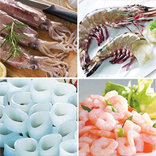 Squid & Prawn